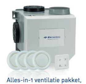 CVE-S Alles-in-1-ventilatiepakket